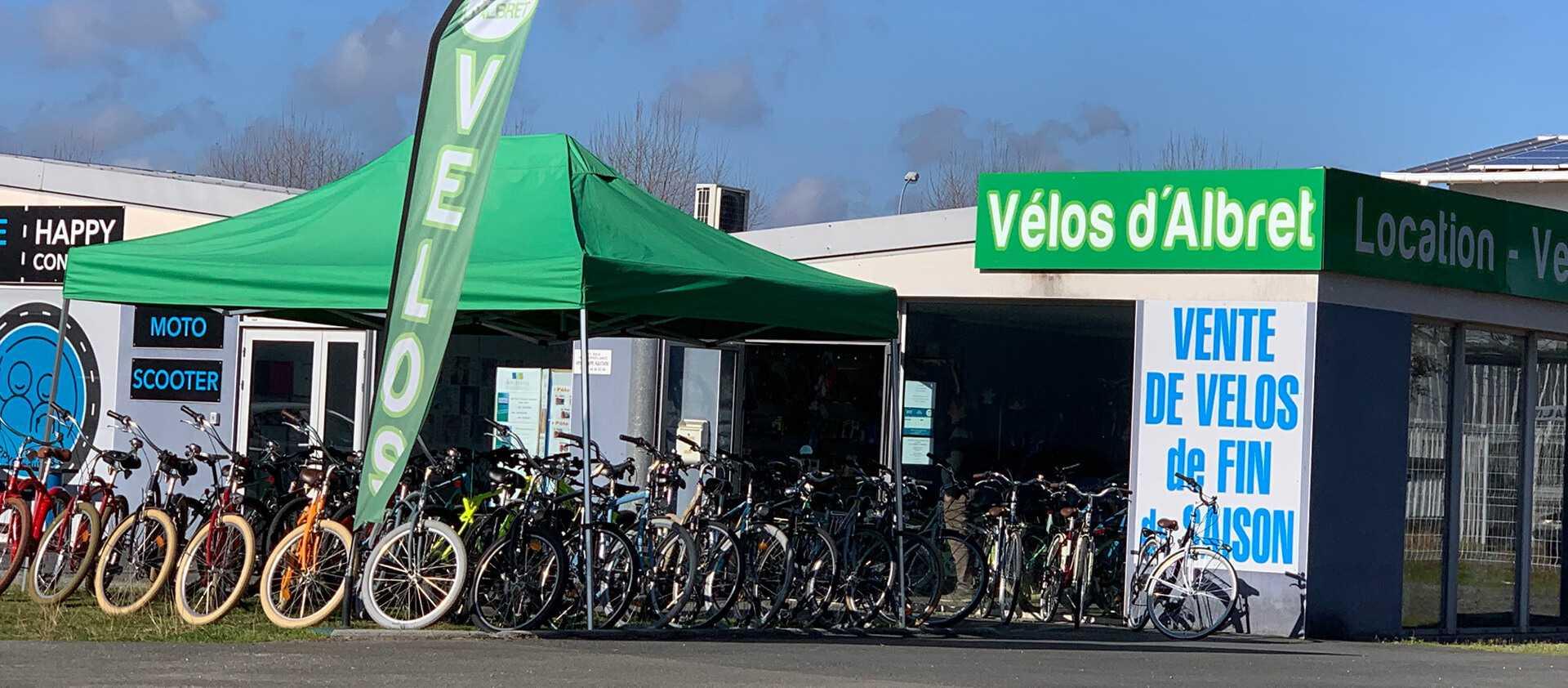 Vélos d'Albret à Vieux-Boucau