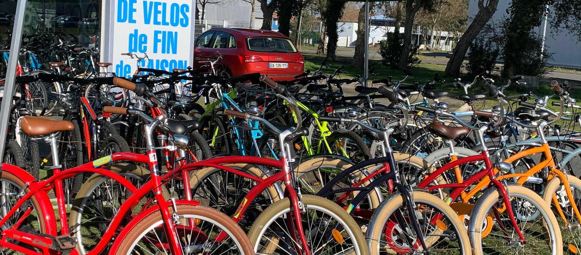 Vente de vélos de fin de saison à Vieux-Boucau