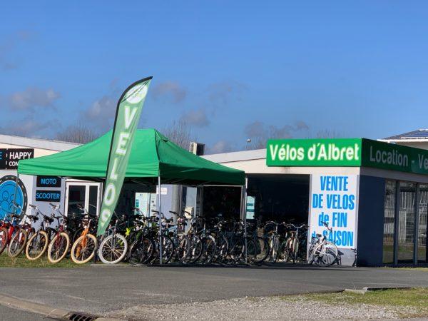 Vélos d'Albret agence de Soustons