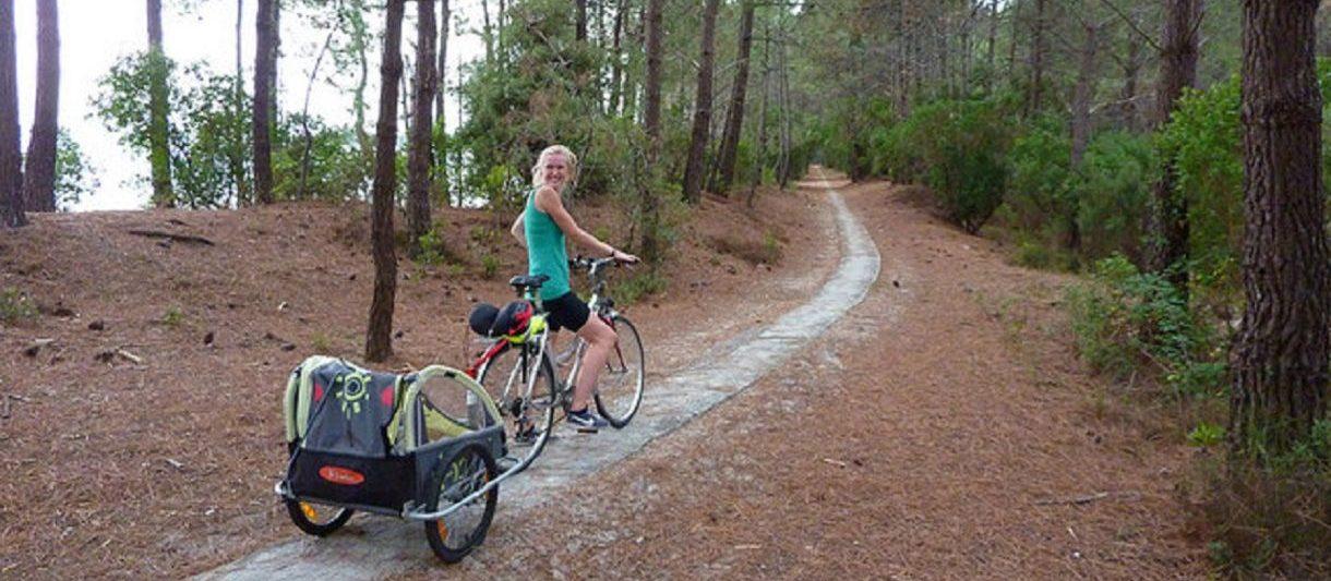 Belle balade à vélo au printemps à faire dans les Landes